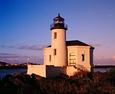 Coquille River Lighthouse at Bullard´s Beach State Park. Southern Oregon Coast. USA