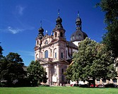 Germany, Mannheim, Jesuit Church, baroque