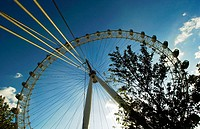 London eye. London. England