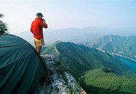 Trekking on the Chinese Wall, China