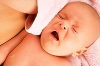 INFANT SNEEZING<BR>Model.