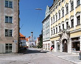 Londoner Hof (rococo stule), Kempten, Allgäu, Bavaria, Germany