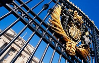 Buckingham Palace gate. London. England