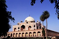 Humayun's (second Mughal ruler of India) mausoleum. New Delhi. India