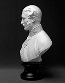 Portrait bust in Parian ware after the marble by Joseph Durham ARA, manufactured c 1866 by Brown-Westhead Moore Co. Prince Albert (1819-1861) married ...