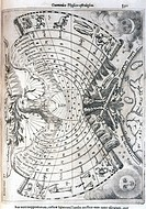 This chart is taken from the book ´Ars Magna Lucis Et Umbrae´ which was published in 1646 by the Jesuit scientist and inventor, Athanasius Kircher (16...