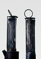 Invented in 1815 by the British chemist Sir Humphry Davy (1778-1829), the Davy lamp was the first miners' safety lamp. Each lamp consisted of a cylind...