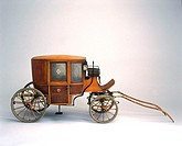 This horse-drawn ambulance was widely used in Scotland until the beginning of the 20th century. It was based on the ´Clarence´ carriage, a light coach...
