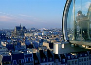 France, Paris, rooftops