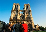 France, Paris, Notre Dame Cathedral