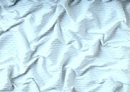White fabric, close-up, full frame