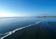 New Zealand, Ninety Mile Beach, shorescape