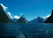 New Zealand, fjords