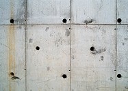 Concrete wall, close-up