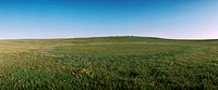 Mongolia, plain, panoramic view (thumbnail)