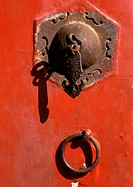 China, Beijing, Forbidden City, handle, close-up