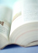 Encyclopedia, close-up