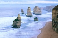 Twelve Apostles before sunrise. Great Ocean Road. Victoria. Australia