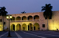 Alcazar de Colon (built in 1510). Santo Domingo. Dominican Republic. West Indies. Caribbean