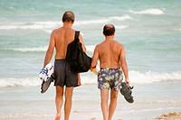 Beachcombers. Miami Beach. Florida. USA