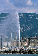 Jet D´eau, Geneva, Switzerland
