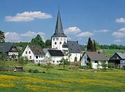 Freudenberg-Oberholzklau, North Rhine-Westphalia, Germany