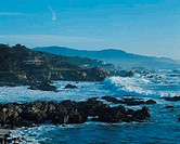 Coast near Carmel, California, USA