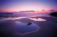 Polzeath Beach, Cornwall, England, Great Britain