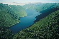 Lake Crescent, Olympic National Park, Washington, USA