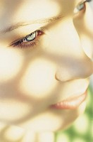 Close up of a Young Woman´s Face