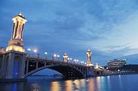 Bridge near Putra Convention Centre, Putrajaya, Malaysia