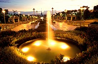 Fountain at Putrajaya, Malaysia