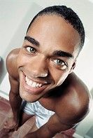 Close-up of a man smiling (thumbnail)