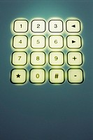 Abstract image of a keypad (thumbnail)