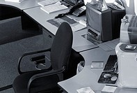 Black and white image of a workstation (thumbnail)