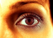 Close up of a european/caucasian girls eye (thumbnail)