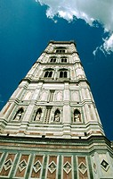Belfry ('campanile') of the duomo. Florence, Italy