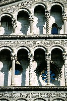 San Michele in Foro church, detail. Lucca. Tuscany. Italy