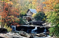 Glade Creek Mill. Babcock State Park. West Virginia. USA