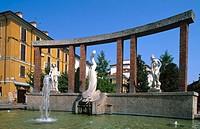 Cassano d´Adda in Lombardy, Italy