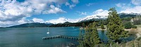 Nahuel Huapi Lake in San Carlos de Bariloche area, Argentina