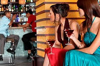 People sitting in bar (thumbnail)