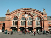 Railway station. Bremen. Germany