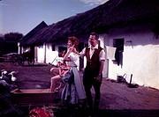Ü  Film - ´Gräfin Mariza´  deut.Spielfilm nach Operette v. Emmerich Kalman, Regie: Rudolf Schündler, Szene mit Rudolf Schock & Christine Görner wagen ...