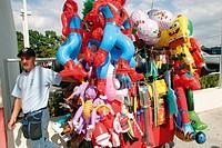 Three Kings Parade and Festival in Calle Ocho. Little Havana. Miami. Miami-Dade County. Florida. USA