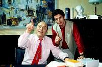 Fernsehserie, ´Liebling Kreuzberg´ BRD 1999, Regie: Vera Loebner, Pilotfilm, Szene mit Manfred Krug als Rechtsanwalt Robert Liebling und Stefan Reck a...