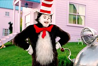 Film, ´Ein Kater macht Theater´ (The Cat in the Hat), USA 2003, Nach Buch von Dr. Seuss, Regie Bo Welch, Szene mit Mike Myers,  kinderfilm, familienfi...