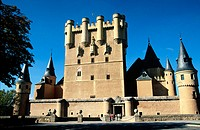 Tower of Juan II in the Alcázar. Segovia. Spain