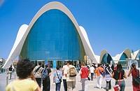 Oceonografic (architect Felix Candela). Ciudad de las Artes y las Ciencias. Valencia. Comunidad Valenciana. Spain