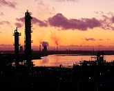 air pollution, arrangements, dusk, enclosures, England, Europe, environment, environmental pollution, Great Britain,